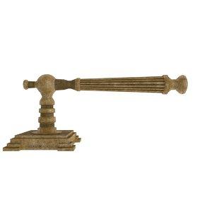 door handle model