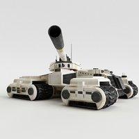 Sci-Fi Future Tank