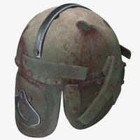 photorealistic helmet 3D model