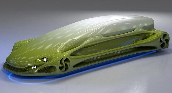 Futuristic Car HD 10