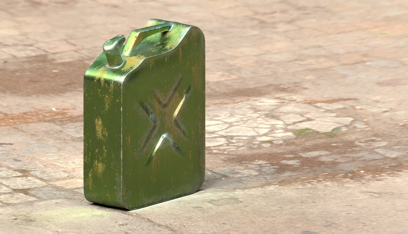3D clean metal rust