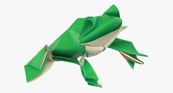 ORIGAMI FROG (Traditional model) - YouTube | 324x600