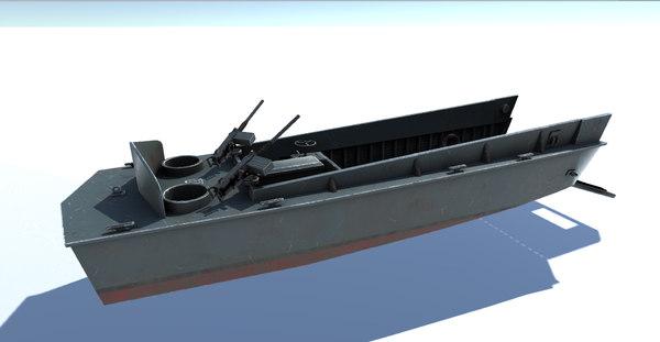 3D landing ship war