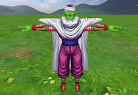 piccolo character dragon ball 3D model