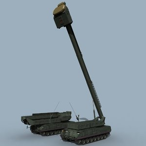 buk-m3 radar 9s36m 3D model