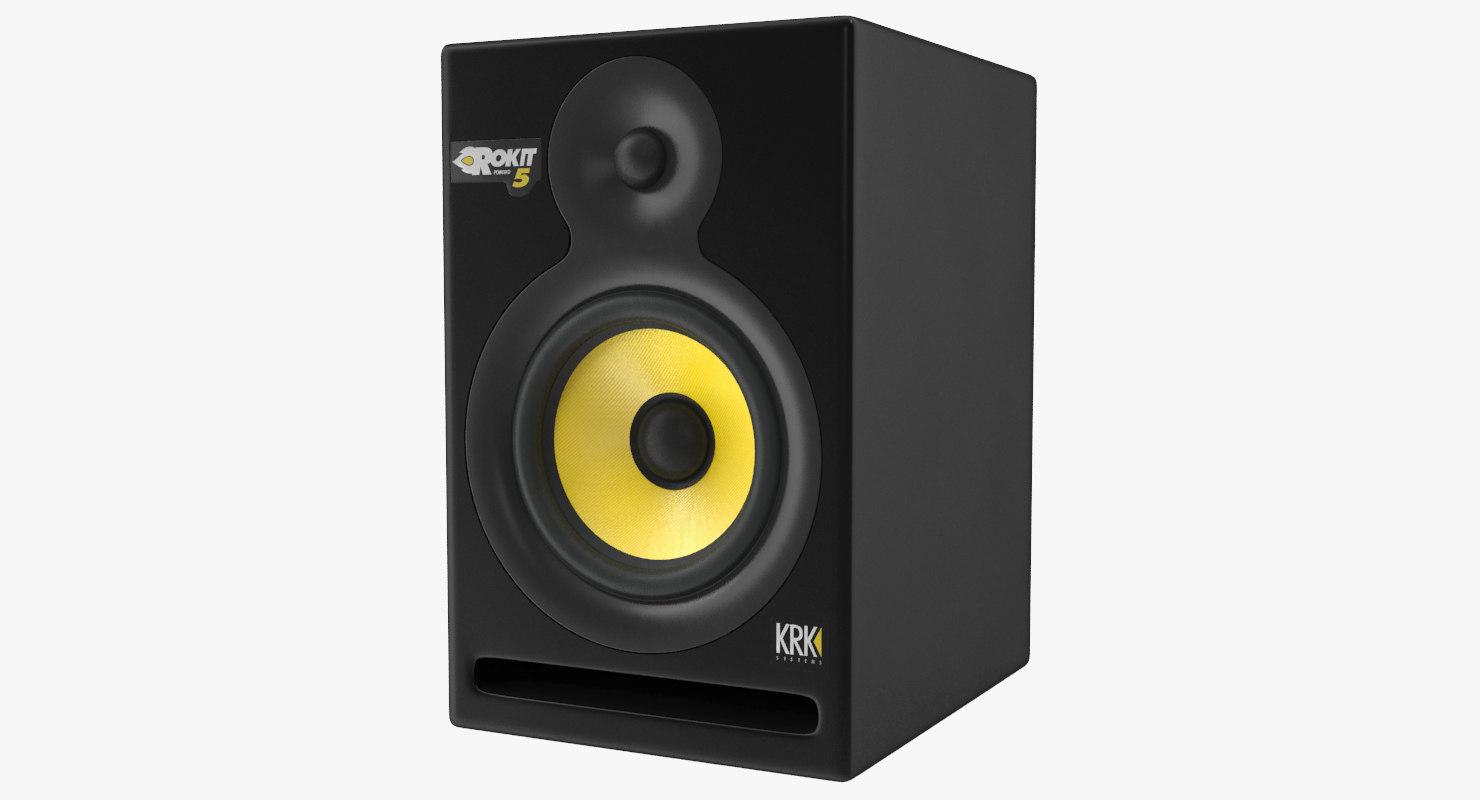 speakers krk model