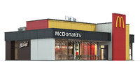 Mc Donalds restaurant 04