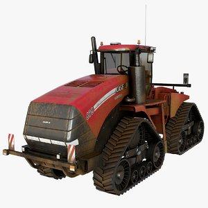3D quadtrac 600 tractor