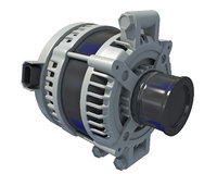 alternator vehicle 3D model