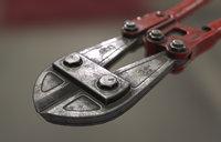3D bolt cutter model