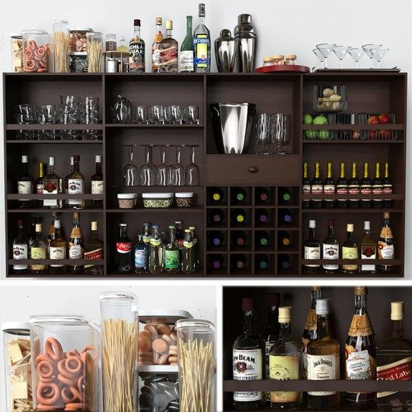 alcohol bar model
