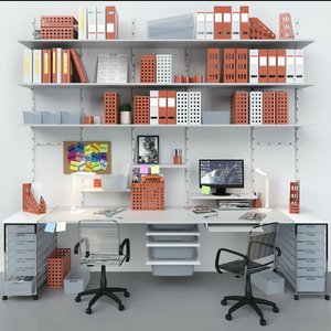 3D office stationery