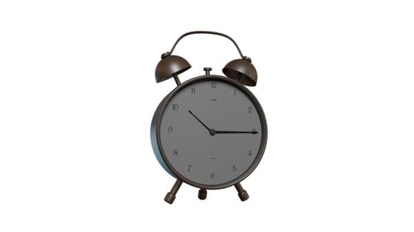 alarm table clock 3D model