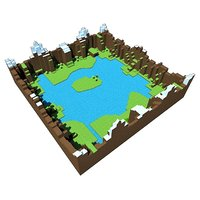 nature land 3D