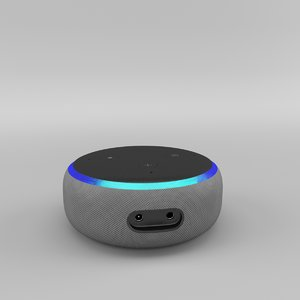 3D model amazon echo dot 3rd