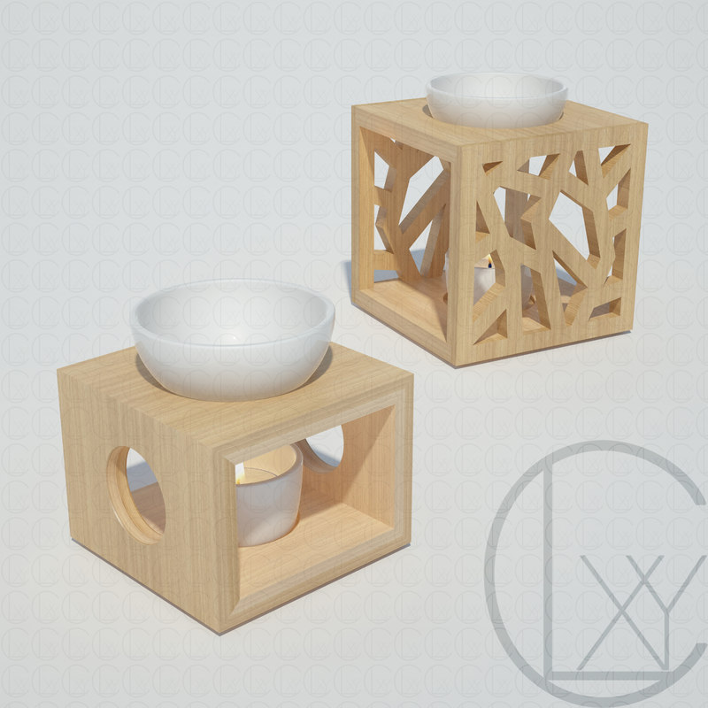 3D oil burners farfalla pajoma