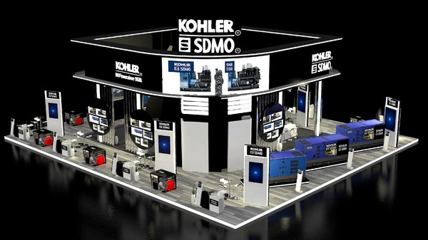 3D exhibition stand build dubai195