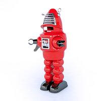 toys robot 3D model