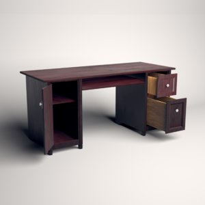 desk ready 3D model