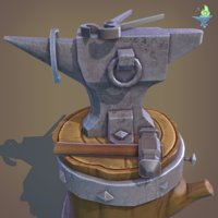 Blacksmith Anvil Set