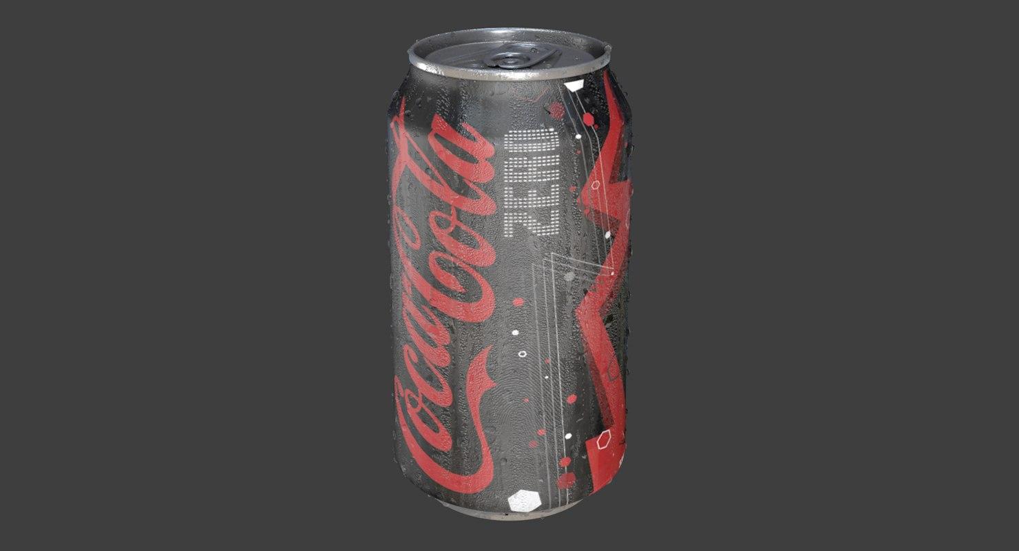 cola zero icy drop model