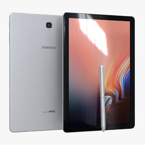samsung galaxy tab s4 3D model