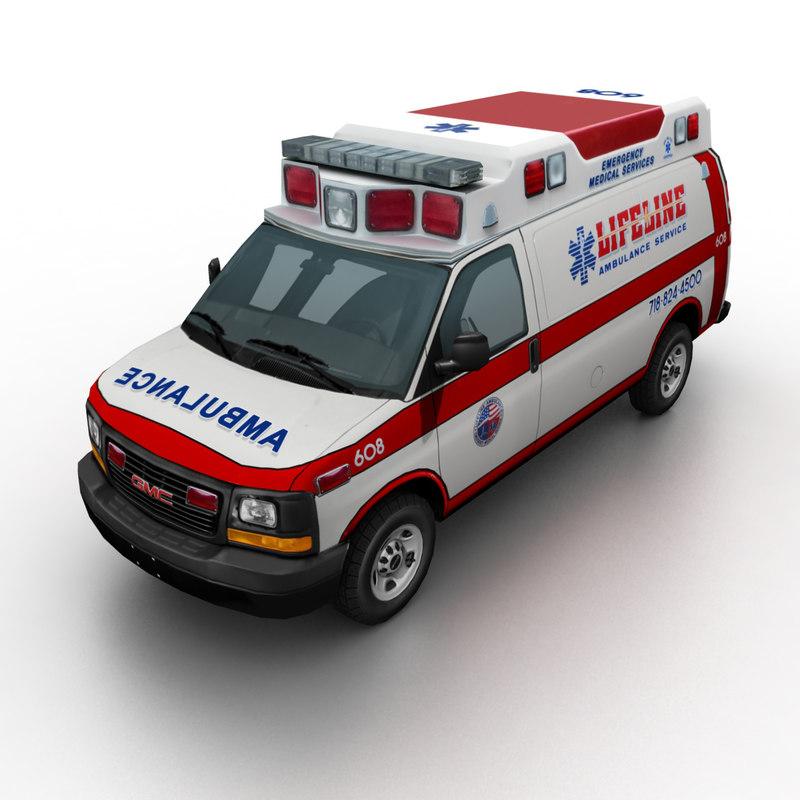 2012 gmc savana ambulance max
