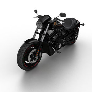 2010 harley-davidson night rod 3d max