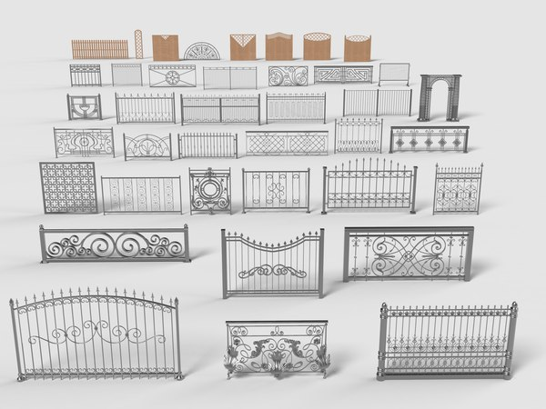 - 39 pieces 3D model