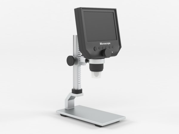 3D portable lcd digital microscope
