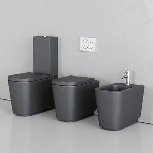 3D toilet meg11 bidet