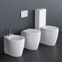 3D toilet - smartb 9909 model
