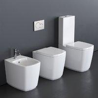 GALASSIA WC SA02 bidet and toilet art. 8960 art. 8961 art. 8962