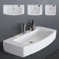 3D washbasin 8958 8955 8954