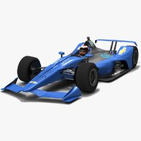 generic indycar chevrolet season 3D model
