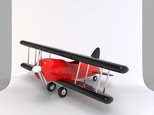 aircraft toy 3D model