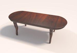 3D model classical table