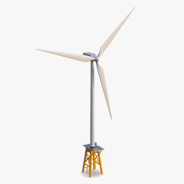 generic wind turbine 3D model