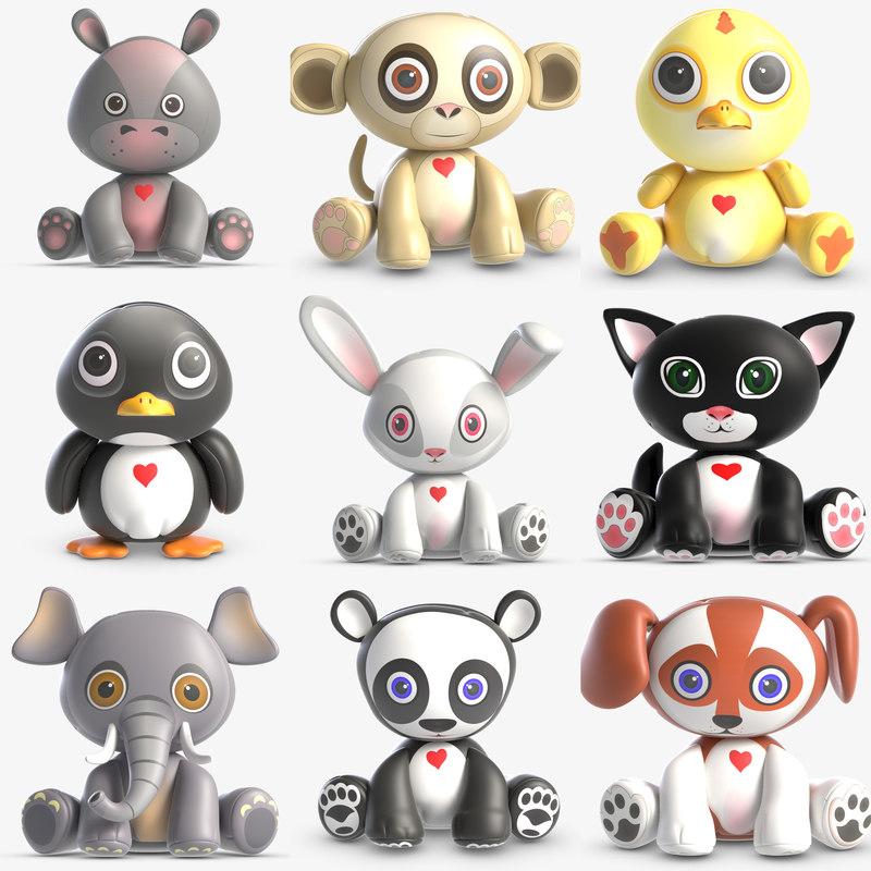 animal toy 3D model