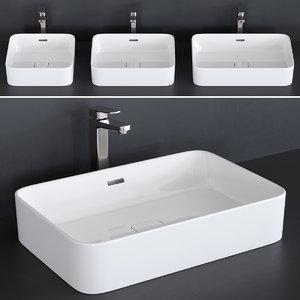 washbasin strada ii art 3D