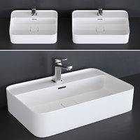 washbasin strada ii art 3D model