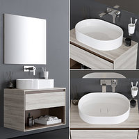 connect air washbasin 3D model