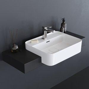 strada ii t2993 washbasin 3D
