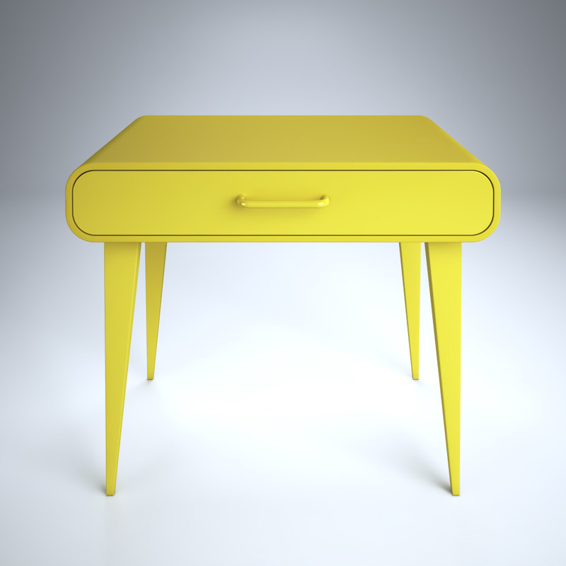 decorative yellow model