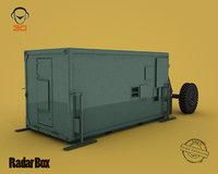 3D radar box model