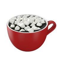 hot chocolate marshmallows model
