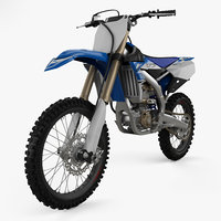 3D yamaha yz 250f model