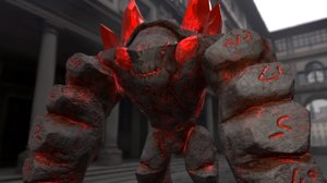 elemental golems 3D model