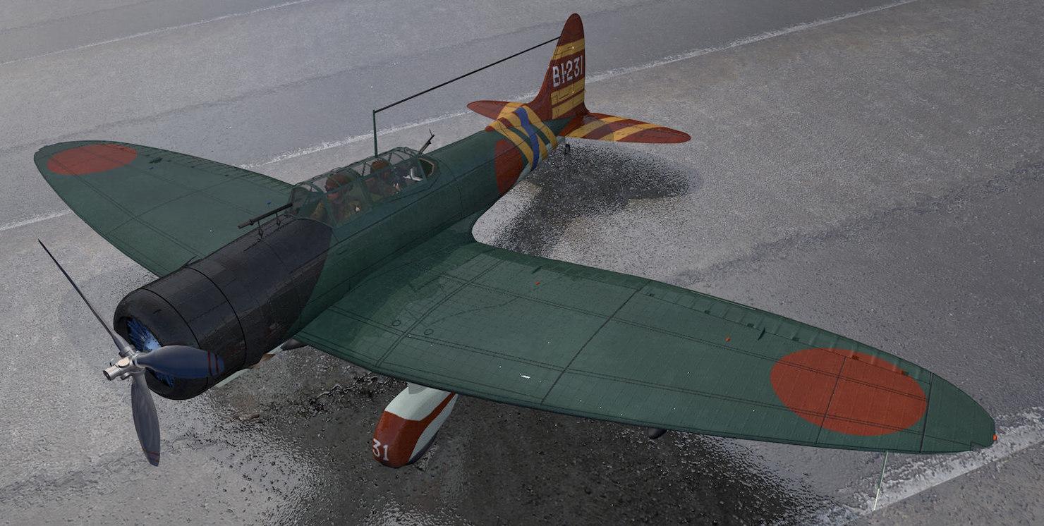 aichi d3a1 val 3D model