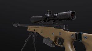 awm awp rifle model